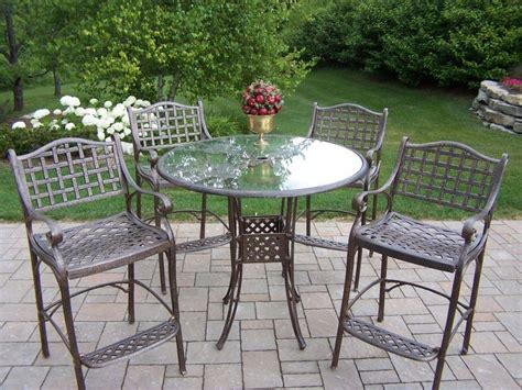 Outdoor Metal Patio Furniture Easy Care Aluminum Patio Furniture Outdoor Patio Ideas