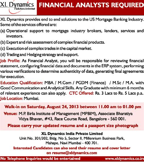 Tomorrow Walkins In Bangalore For Mba Finance Freshers by Freshers Experienced Walk In Xl Dynamics