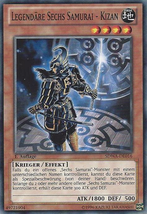 Kartu Yugioh Shiens Footsoldier Common sdwa de016 legend 228 re sechs samurai kizan