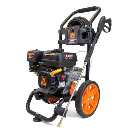 wen 3100 psi 208cc 2 5 gpm gas pressure washer shopyourway