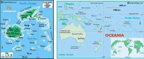 world map figi physical geography fiji islands