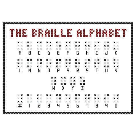 Braille Alphabet Printable