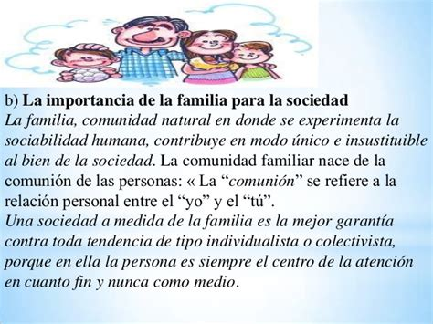 imagenes sobre la importancia de la familia la familia celula vital de la sociedad