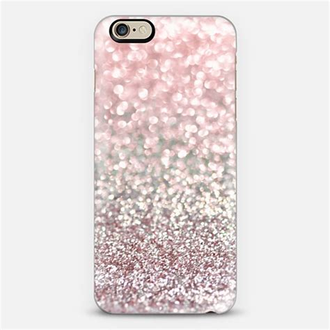 Po Custom In Pink Charm For Iphone Samsung Limited girly pink snowfall iphone 6 by argyropoulos