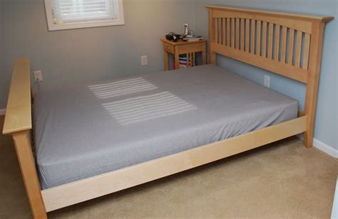 maple beds ben s maple bed the wood whisperer