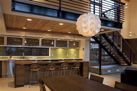 Open Kitchen Dining Room Designs Restaurant Open Kitchen Designs Photos Decobizz