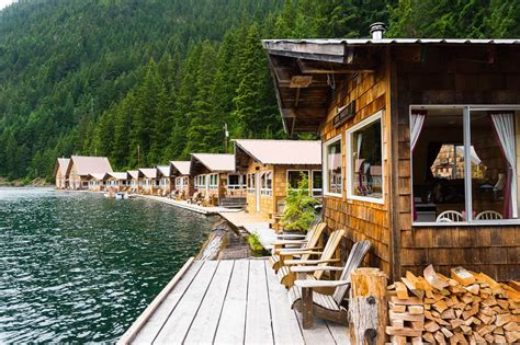 Diablo Lake Cabins by Cascades National Park Weekend Guide