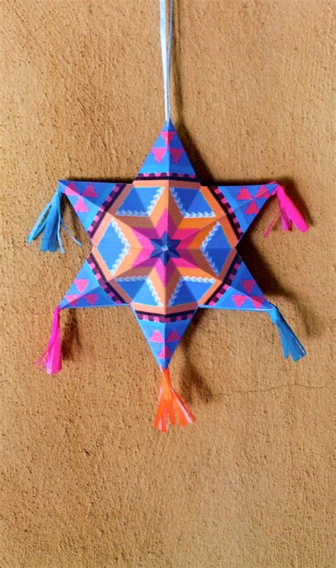 Make Your Own Paper Decorations - make your own mexican paper ornaments diy tutorial