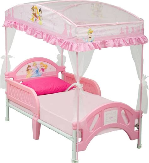 Canopy For Bunk Bed Toddler Bunk Bed With Canopy Pink White Set Bedroom Ebay