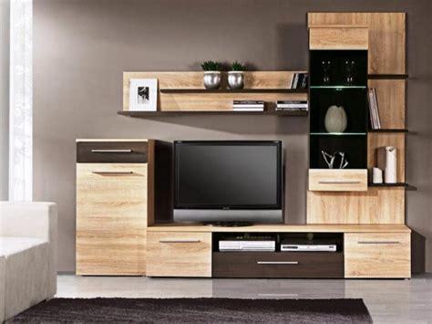 wood tv wall units