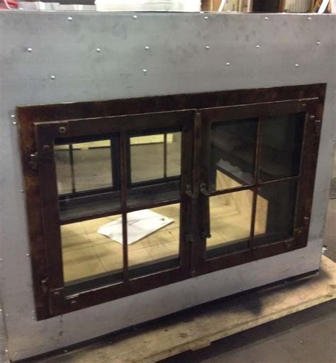 2 sided indoor outdoor fireplace see thru wood fireplace
