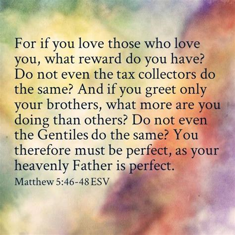 matthew 5 46 48 it s all about him the gospels