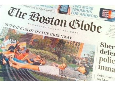 boston globe home delivery fiasco reporters step in to
