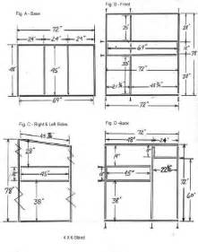 hunt box floor plans trophy deer stand plans 4x6 pinteres