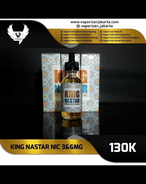 King Saparila Liquid Dingin Murah distributor king nastar liquid jual king nastar liquid vaporizer jakarta