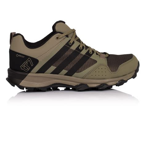 adidas kanadia 7 tr mens green tex running sports shoes trainers pumps ebay