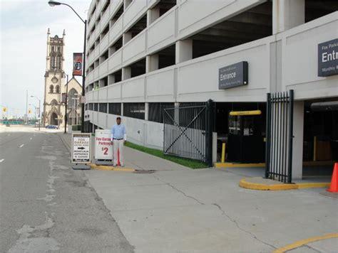 fox parking garage at 50 w montcalm st detroit parking