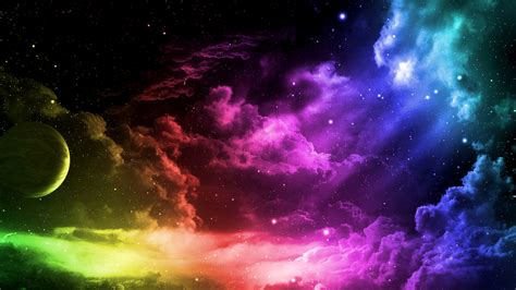 colorful clouds wallpaper free 43 colorful desktop backgrounds technosamrat