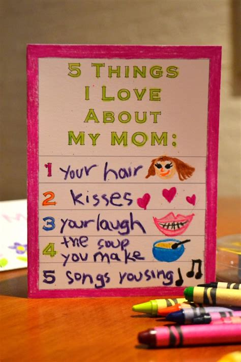mothers day cards to make in school 9 easy handmade s day cards your can make