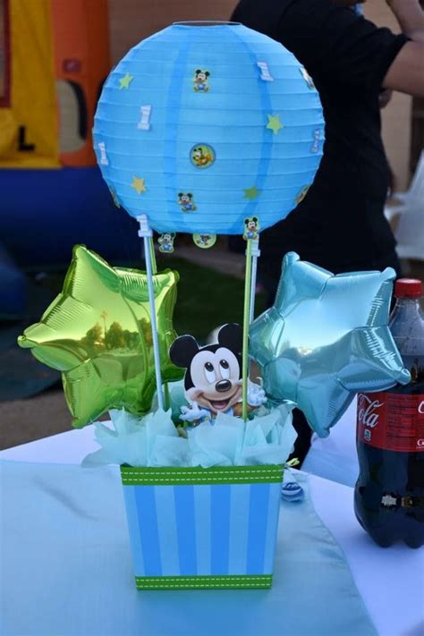 cumplea os mickey mouse decoracion cumplea 241 os de mickey mouse baby 20 decoracion de