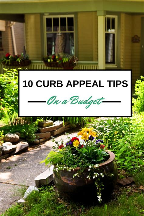 curb appeal on a budget home picmia