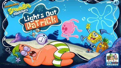 spongebob squarepants lights spongebob squarepants lights out don t