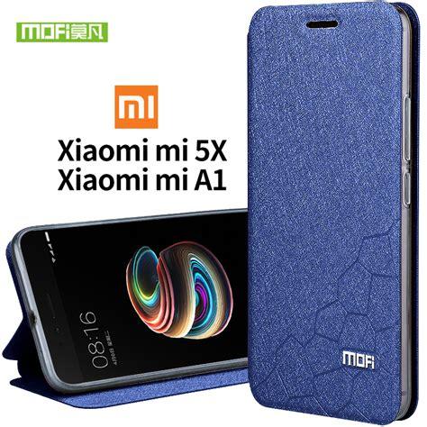 Xiaomi Mi A1 Xiaomi 5x Cover Hardcase Original xiaomi mi 5x silicon back cover mofi original xiaomi 5x luxury flip leather tpu fundas