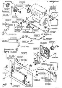 mazda b3000 engine diagram