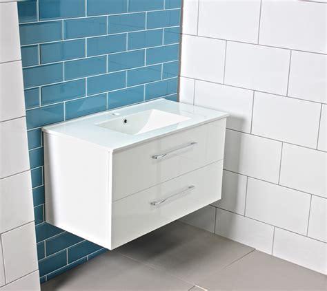 Large Bathroom Vanity Units by Modern Large Gloss White Bathroom Vanity Unit Countertop