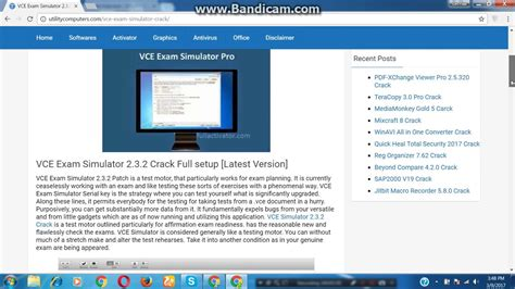 vce software full version crack download vce exam simulator 2 3 4 full crack patch get here latest