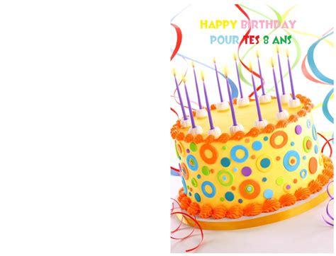 carte d anniversaire 8 ans gh34 jornalagora