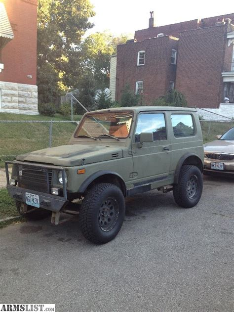 1987 Suzuki Samurai For Sale Armslist For Sale 1987 Suzuki Samurai