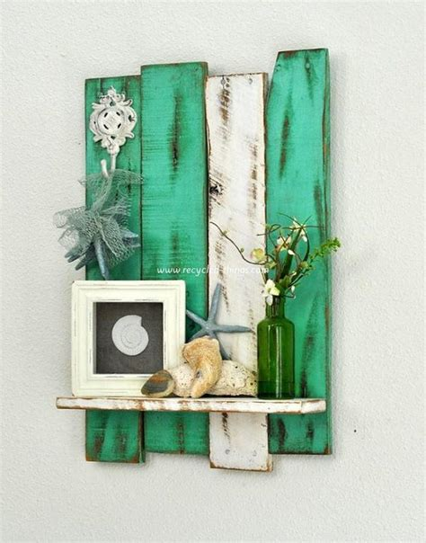 Home Decor Made From Pallets | diy wooden pallet wall decor recycled things