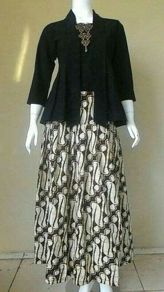 Stelan Kebaya Jumbo stelan atasan blouse kebaya batwing dan rok lilit wanita