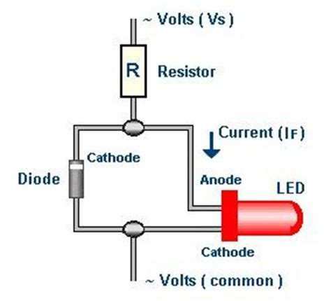 led diodes 24v how to install an led on indicator to monitor 24v ac line