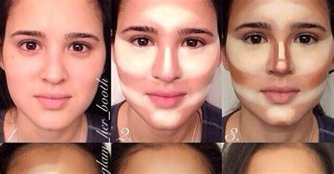 tutorial make up natural untuk pipi tembem tips cara bermake up natural untuk wajah bulat