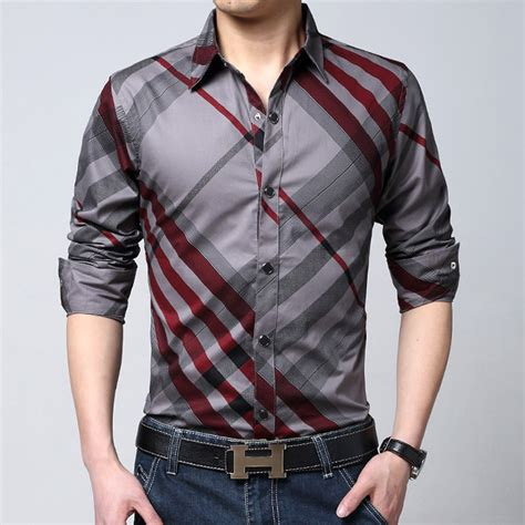 aliexpress com buy 2016 spring brand striped shirts men