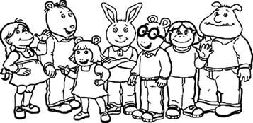 arthur coloring pages show arthur coloring page wecoloringpage