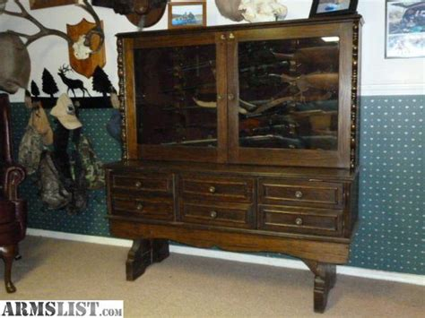 hold cabinets for sale armslist for sale custom wooden gun cabinet hold guns