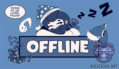 painting offline picarto offline banner by rolicious on newgrounds
