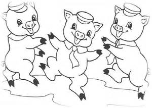 ausmalbilder 252 kinder die drei kleinen schweinchen 11