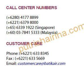 batik air call center panduan web check in batikair putri chairina