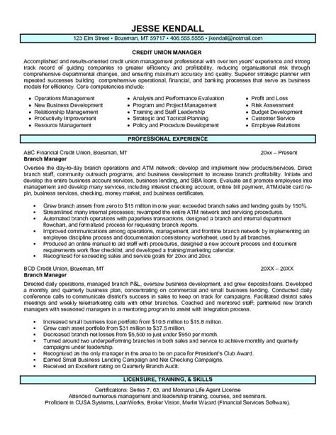 resume for credit manager bank manager resume template learnhowtoloseweight net