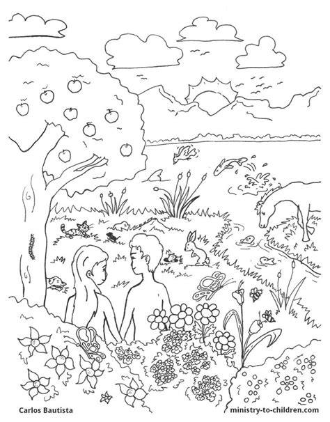 days of creation coloring pages coloring home