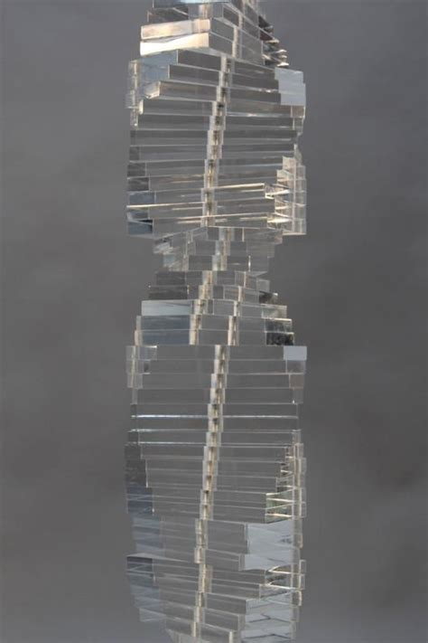 Stacked Floor L by Stacked Lucite Floor L In The Manner Of Karl Springer For Sale At 1stdibs