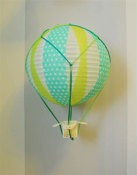 How To Make Balloons Out Of Paper - diy miniature air balloons loving here