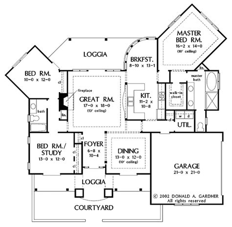 adobe floor plans adobe southwestern style house plan 3 beds 2 baths
