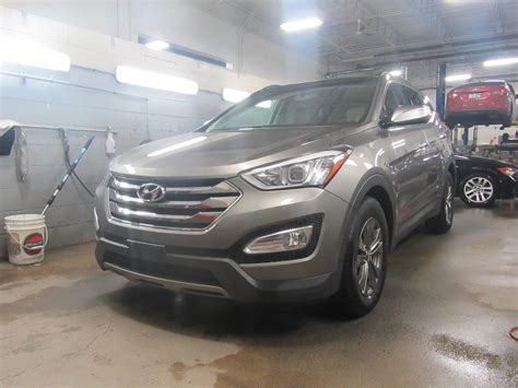 Hyundai Santa Fe Sunroof by 2014 Hyundai Santa Fe Leather Sunroof Awd 20 288