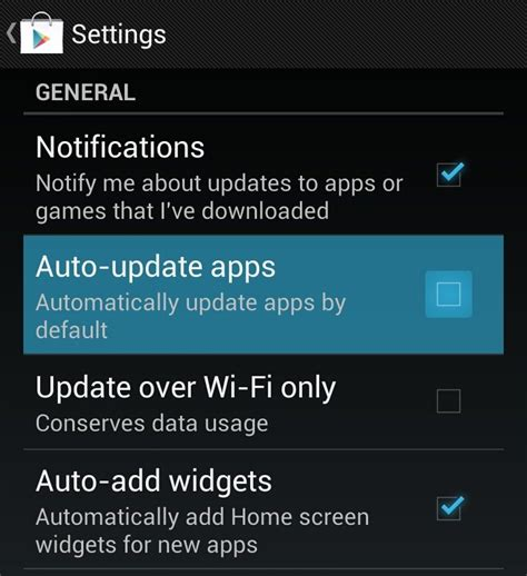how to update android apps stop android apps automatically updating tech advisor