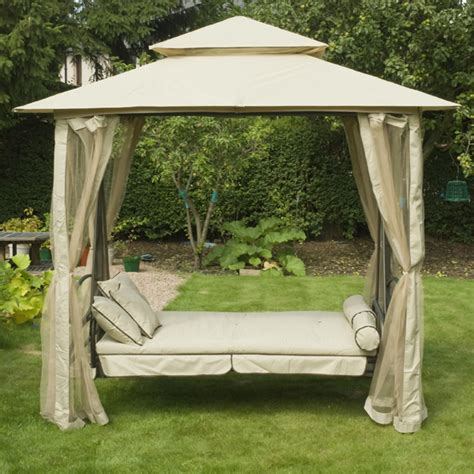 gazebo swing set gazebo swing regency swing gazebo in natural 1 5m x 2